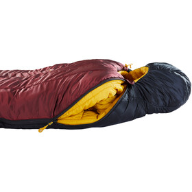 Nordisk Oscar -10° Mummy Sac de couchage XL, rio red/mustard yellow/black